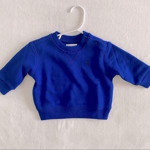 Ralph Lauren blue sweatshirt 6 months